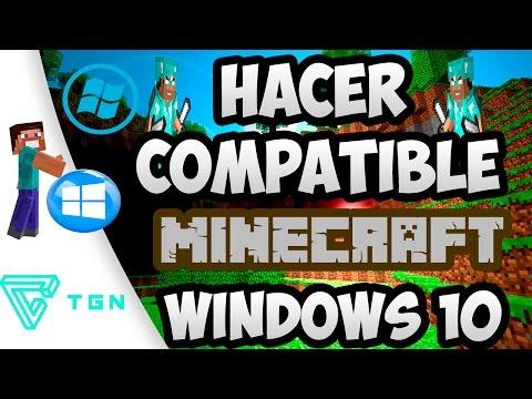 Solucion: Hacer Compatible Minecraft + otros programas Con Windows 10
