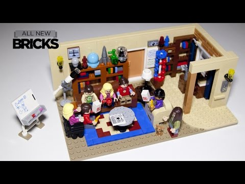 Lego Ideas 21302 The Big Bang Theory Speed Build
