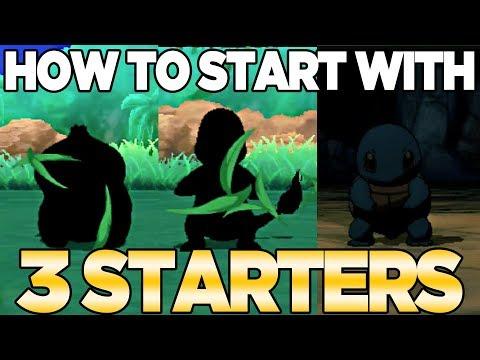How to Get 3 Starters in Pokemon Ultra Sun & Moon | Austin John Plays