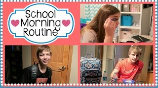 FAMILY SCHOOL MORNING ROUTINE | SPRING 2016