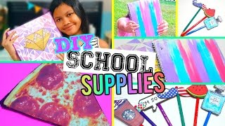 DIY School Supplies | Back to School 2015!