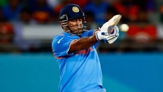 MS Dhoni 85  India VS Zimbabwe ICC Cricket World Cup
