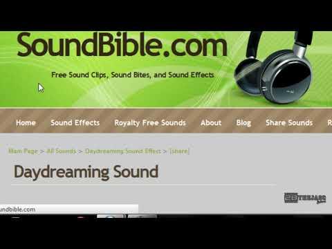 Descarga 2000 Efectos de sonido Gratis!
