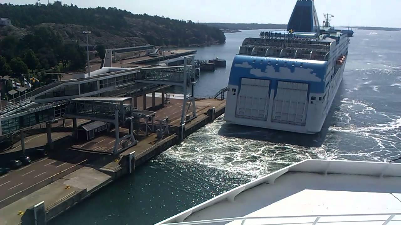 Silja Europalla osa 4 - Laiva saapuu Maarianhaminaan. - YouTube
