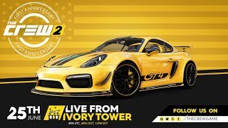 The Crew 2 #LivefromIVT – Anniversary Livestream | Ubisoft [NA]