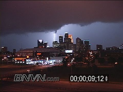 8/13/2007 Time-lapse Footage Of Storms At Night