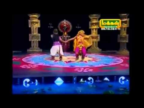 Lakshmi Anand Dance Vishamakara Kannan 2014 07 06 Makkal tv...