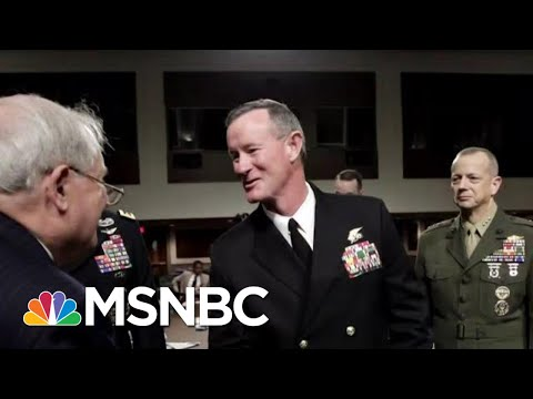 President Donald Trump Blasts Retired Navy SEAL Who Led Bin Laden Raid | Hallie Jackson | MSNBC