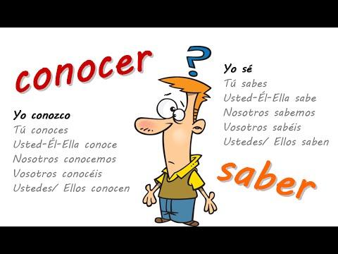 CONOCER VS. SABER in depth by www.esaudio.net