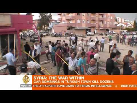 Dozens killed in bombings on Turkey-Syria border