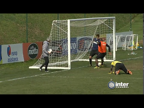 ALLENAMENTO INTER REAL AUDIO 11 03 2014