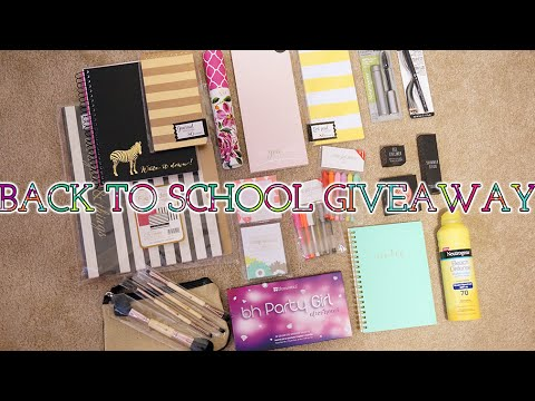 Back to School Essentials GIVEAWAY! | Charmaine Dulak