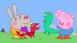 Peppa Pig en Español Episodios completos | ¡George y Didier Donkey! | 1 Hour | Pepa la cerdita