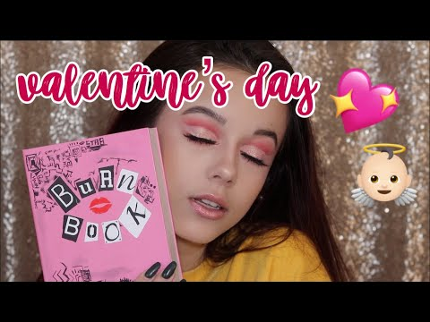 MAKEUP TUTORIAL: PINK GLAM VALENTINES DAY MAKEUP LOOK