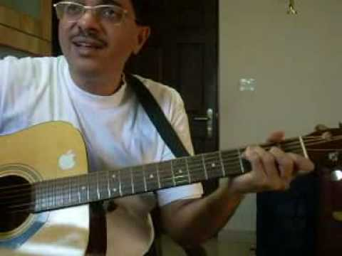 aa bhi jaa (cover) guitar chord hindi song lesson by Suresh