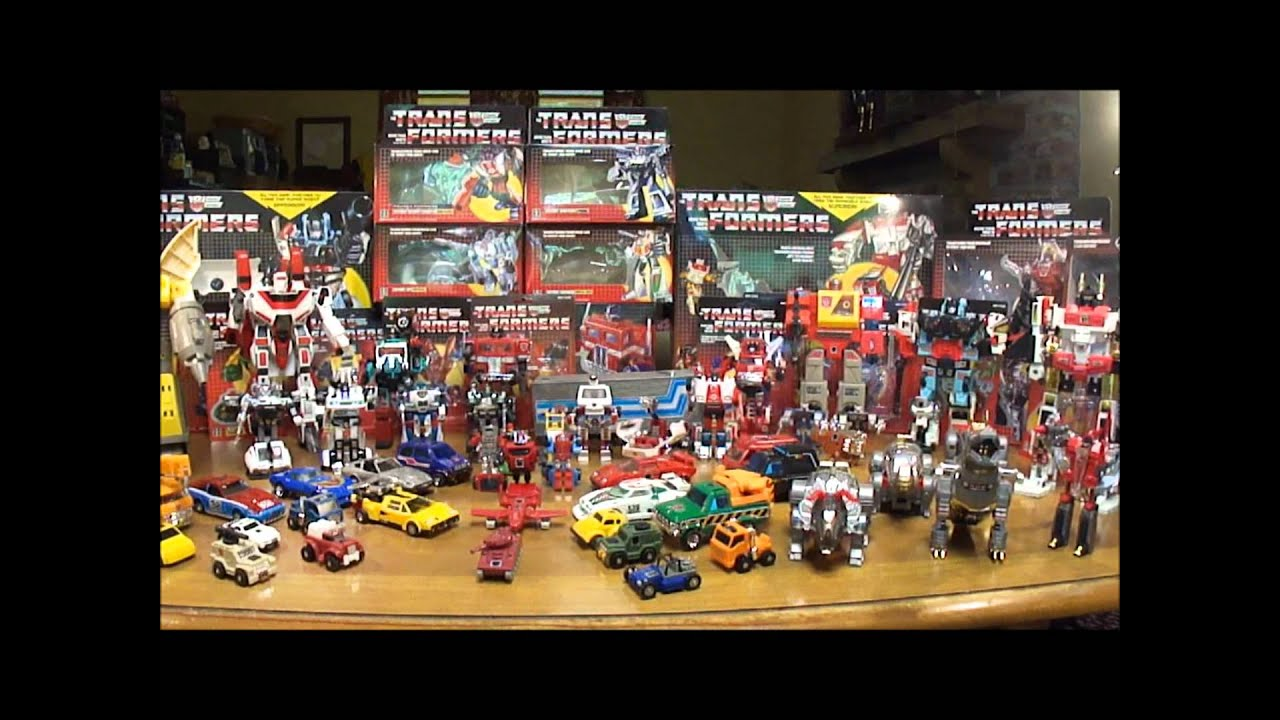G1 Transformers Review: The Autobot Army - YouTube Vintage Hasbro Toys