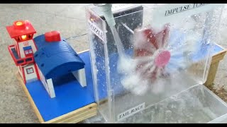 Working Model of Hydro Electric Power Plant | By Dawood UET Students | Science Project