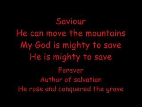 Mighty to save - Hillsong