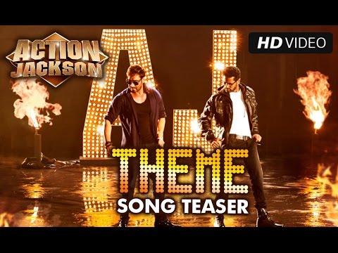 AJ Theme Song | Teaser | Ajay Devgn & Prabhu Dheva