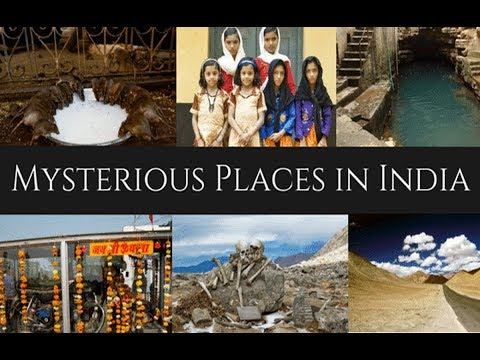Mysterious Places, People in India [Hindi] | भारत के रहस्यमय स्थान, लोग | Delight Universe