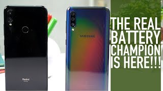 Redmi Note 7 Pro vs Galaxy A50 Ultimate Comparison: PUBG | Battery Test | Charging Speed | [Hindi]