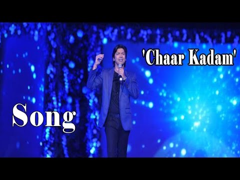Shaan Performing Chaar Kadam Song @ Style Fashion Show