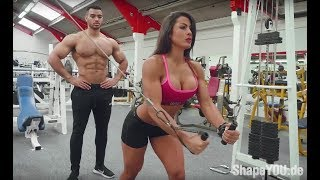 Upper Body Couple Workout - Justin St Paul & Cristina Silva