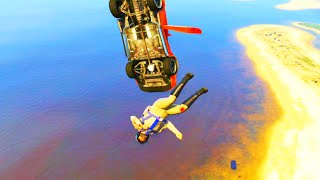 GTA V Unbelievable Crashes/Falls - Episode 37