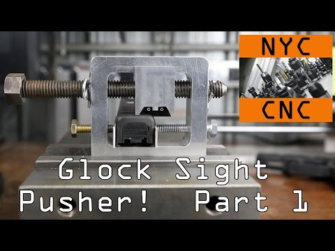 DIY Glock Rear Sight Pusher Installation Tool!   Part 1 Widget31