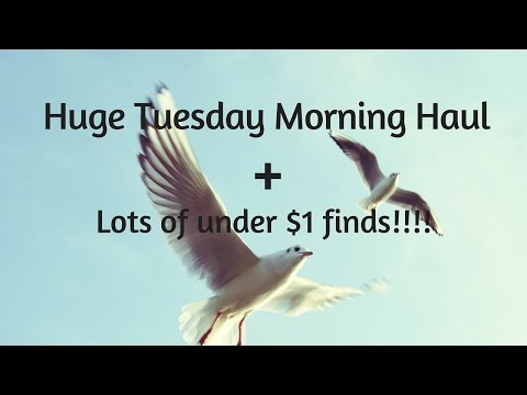 GO!!! Huge Tuesday Morning Haul ! BUYIT!!!