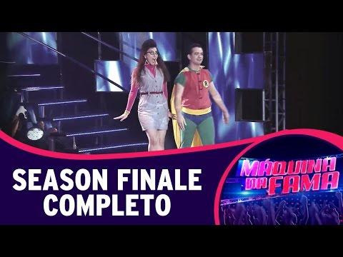 Máquina da Fama (18/08/14) - Season Finale