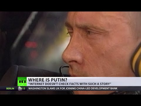 Where is Putin? 'Missing, ill, dead, riding a weasel' - media abuzz