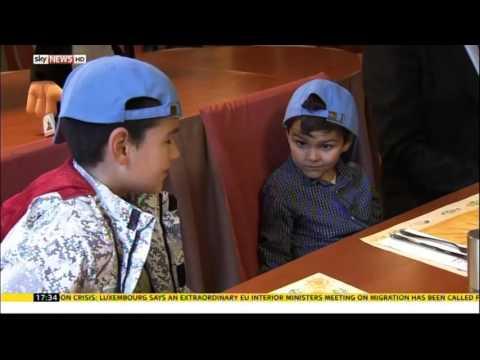 Ashya King Returns To PTC Czech - Sky News September 15