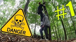 YOUTUBER in der WILDNIS !? | Youtube Camp #1| CrispyRob