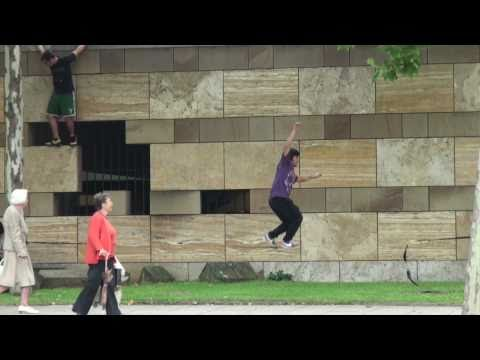 "GIBBON Slacklines Allstars Tour  ""City Slackers"""