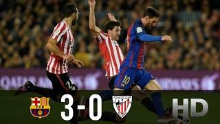 Barcelona vs Athletic Bilbao 3-0 All Goals and Highlights La Liga 04022017 HD