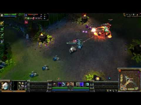 league of Legends 23-05-2010 Tristana (Legendary win game) Part 4