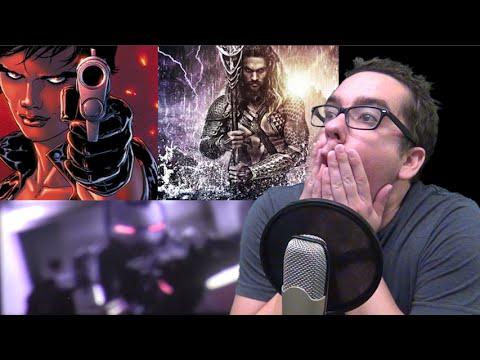 Leaked Captain America Civil War Fake Trailer and Aquaman in Suicide Squad