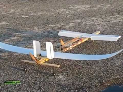RC Canard Plane with Glider Launcher