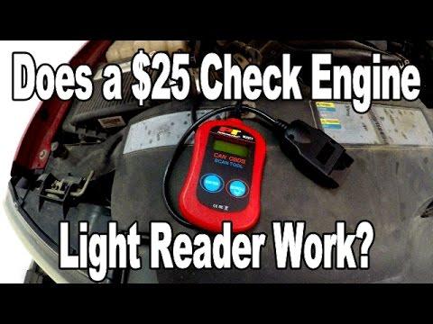 Do Cheap Check Engine Light Readers Work?