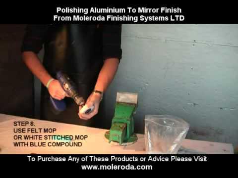 Aluminium Polishing Tutorial - To Mirror Finish