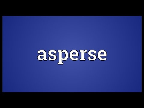 Header of asperse