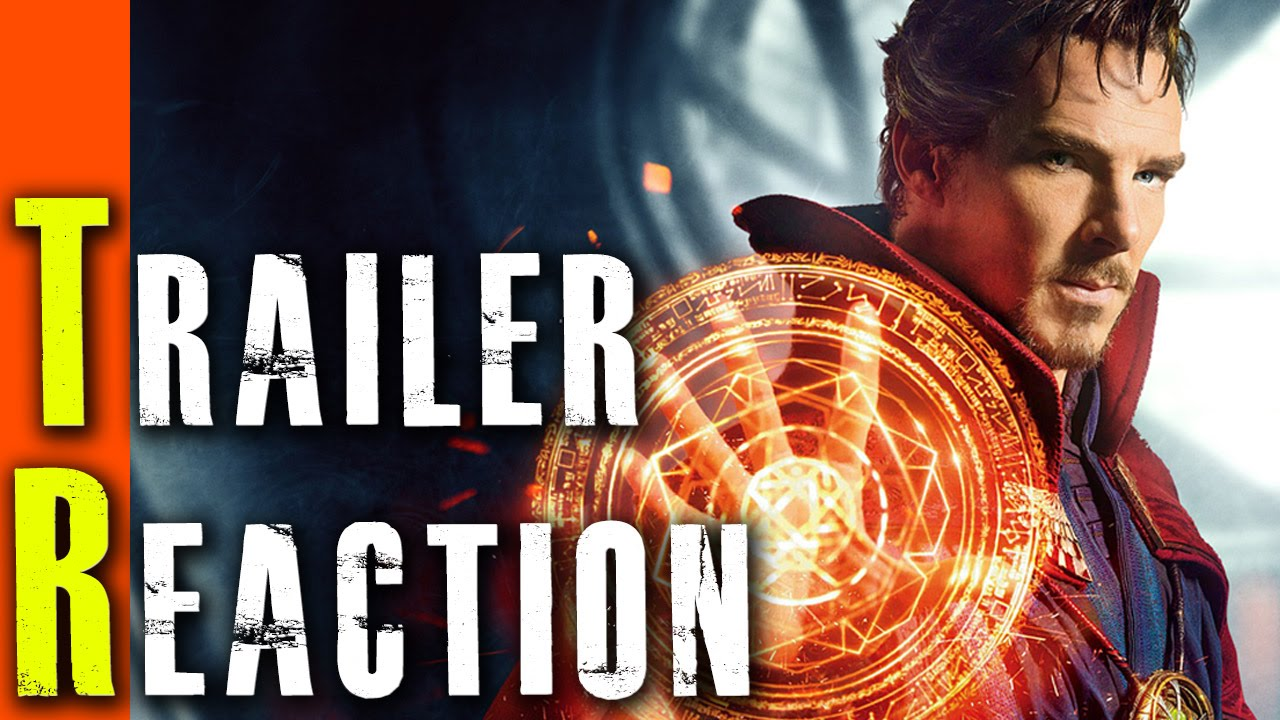Doctor Strange Trailer Reaction [HD]