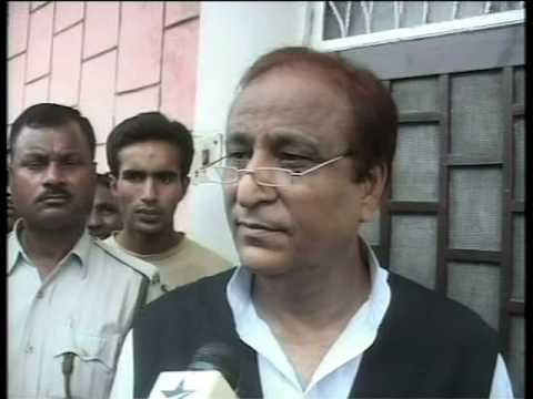Azam Khan is still angry