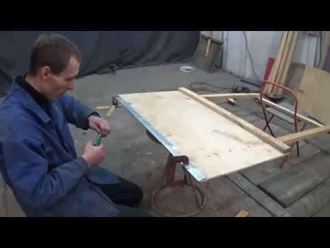 Сделать лопату для уборки снега своими руками