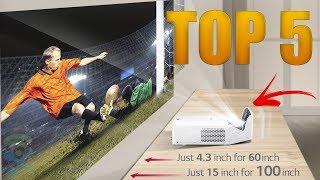 Top 5 Best Projectors 4K for 2018 - Best Home Theater Projectors