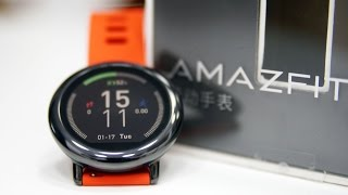 Xiaomi Huami Amazfit Pace Smartwatch (IP 67 | 5 Days Battery | GPS |Heartrate) Unboxing & Hands On
