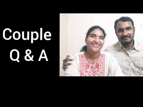 Couple Q and A in telugu    Ram revealed all my secrets
