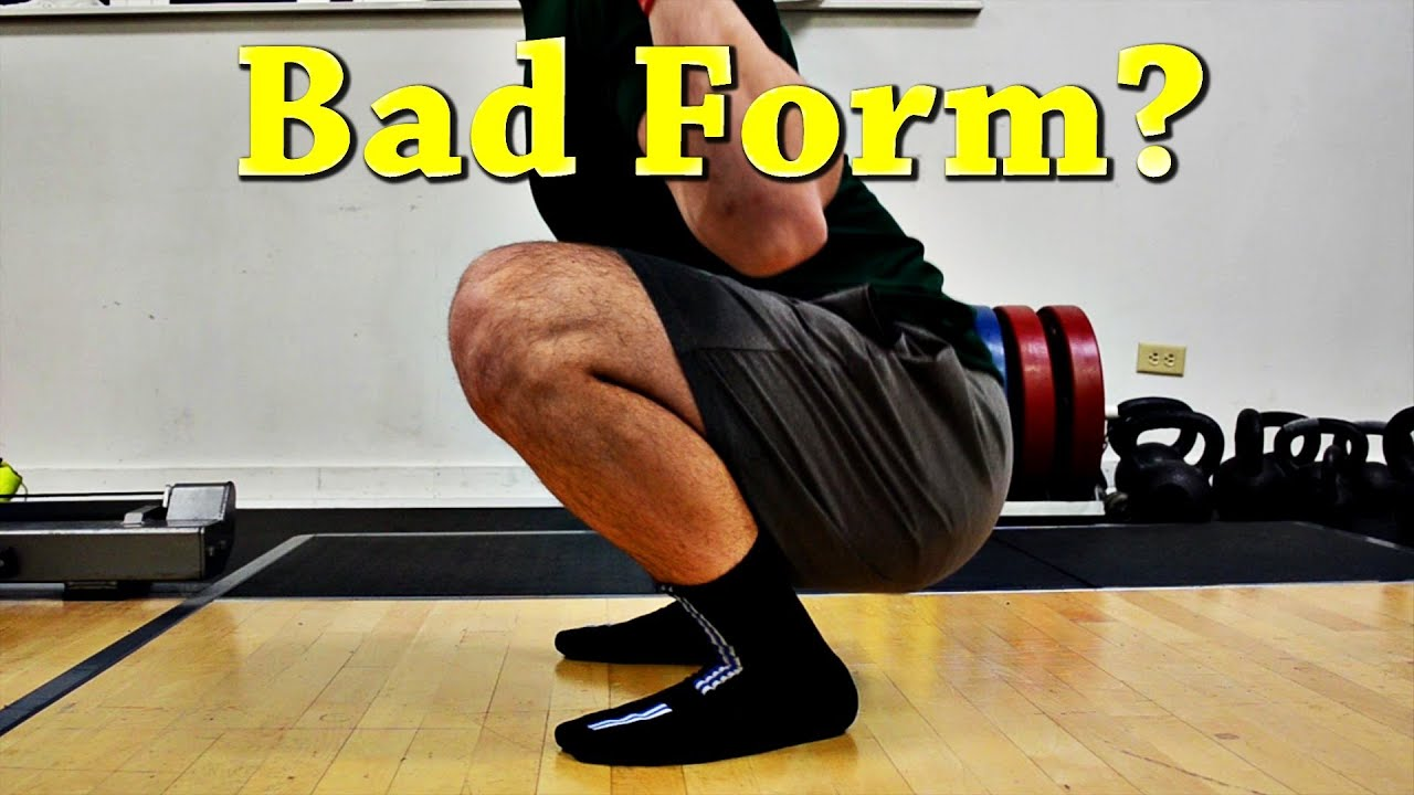 Squat Myth - Knees Should Never Go Over Toes