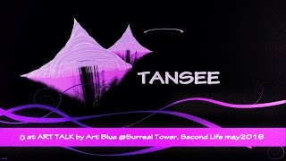 ☼Artworks by TANSEE @ART TALK by Art Blue at Surreal Tower SL May19.2016